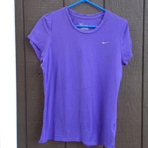 Nike Purple Short Sleeve T, XL
